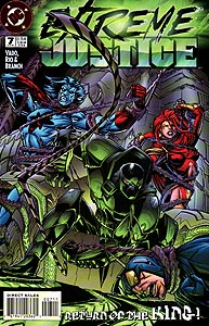Extreme Justice, Vol. 1, #7. Image © DC Comics