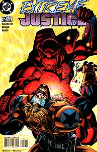 Extreme Justice 12.  Image Copyright DC Comics