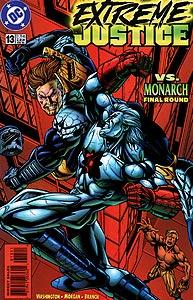 Extreme Justice 13.  Image Copyright DC Comics