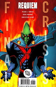 Final Crisis: Requiem 1.  Image Copyright DC Comics