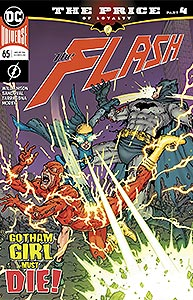 The Flash, Vol. 3, #65. Image © DC Comics
