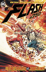 The Flash, Vol. 3, #750. Image © DC Comics