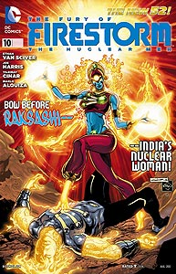 The Fury of Firestorm: The Nuclear Men, Vol. 1, #10. Image © DC Comics
