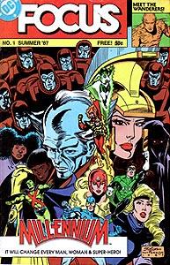 Focus, Vol. 1, #1. Image © DC Comics