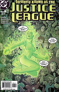 Formerly Known as the Justice League 4.  Image Copyright DC Comics