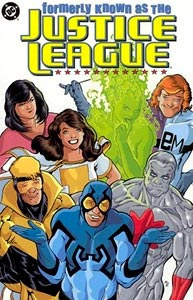 Formerly Known as the Justice League, Vol. 1, #1. Image © DC Comics