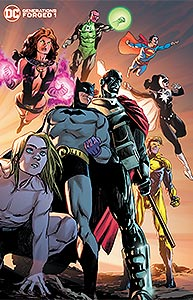 Generations Forged 1. Variant Cover Image Copyright DC Comics