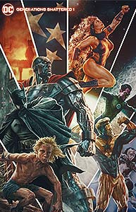 Generations Shattered 1. Variant Cover Image Copyright DC Comics