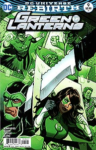 Green Lanterns, Vol. 1, #9. Image © DC Comics