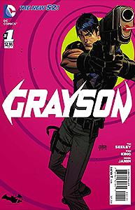 Grayson, Vol. 1, #1. Image © DC Comics