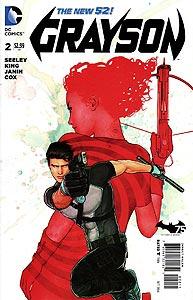 Grayson, Vol. 1, #2. Image © DC Comics