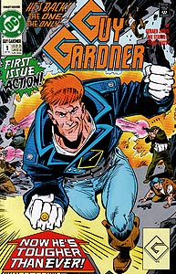 Guy Gardner, Vol. 1, #1. Image © DC Comics