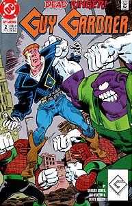 Guy Gardner, Vol. 1, #2. Image © DC Comics