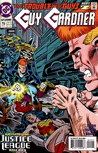 Guy Gardner, Vol. 1, #15. Image © DC Comics