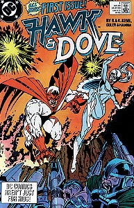Hawk and Dove, Vol. 3, #1. Image © DC Comics