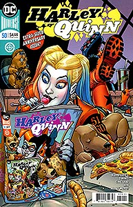 Harley Quinn, Vol. 3, #50. Image © DC Comics