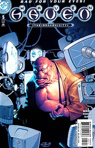 Haven: The Broken City 5.  Image Copyright DC Comics