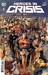 Heroes in Crisis 1.  Image Copyright DC Comics