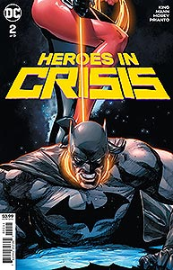 Heroes in Crisis, Vol. 1, #2. Image © DC Comics