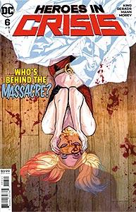 Heroes in Crisis, Vol. 1, #6. Image © DC Comics