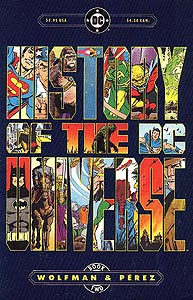 History of the DC Universe 2.  Image Copyright DC Comics