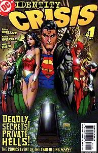 Identity Crisis, Vol. 1, #1. Image © DC Comics