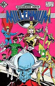 Millennium Index 1.  Image Copyright DC Comics