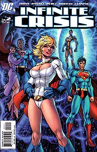Infinite Crisis, Vol. 1, #2. Image © DC Comics