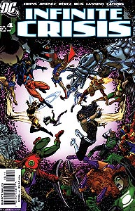Infinite Crisis, Vol. 1, #4. Image © DC Comics