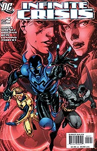 Infinite Crisis 5.  Image Copyright DC Comics