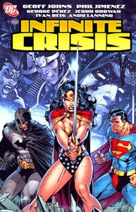 Infinite Crisis 1.  Image Copyright DC Comics