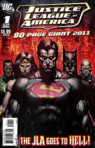 Justice League of America 80-Page Giant 2011, Vol. 1, #1. Image © DC Comics