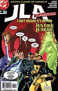 JLA Classified 4.  Image Copyright DC Comics