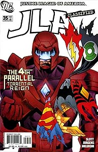 JLA Classified 35.  Image Copyright DC Comics