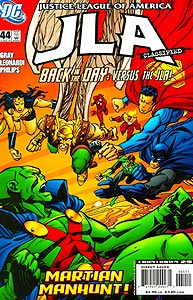 JLA Classified 44.  Image Copyright DC Comics