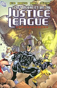 I Can't Believe It's Not The Justice League, Vol. 1, #1. Image © DC Comics