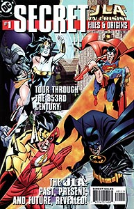 JLA In Crisis Secret Files, Vol. 1, #1. Image © DC Comics