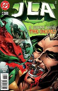 JLA, Vol. 1, #6. Image © DC Comics
