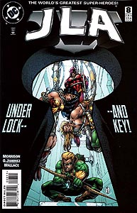 JLA, Vol. 1, #8. Image © DC Comics