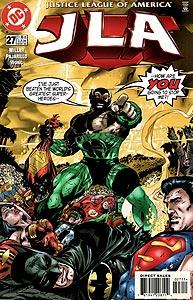 JLA 27.  Image Copyright DC Comics
