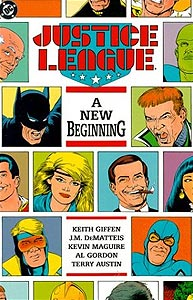Justice League: A New Beginning 1.  Image Copyright DC Comics