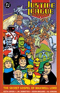 Justice League International: The Secret Gospel of Maxwell Lord 1.  Image Copyright DC Comics