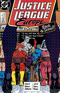 Justice League Europe, Vol. 1, #6. Image © DC Comics