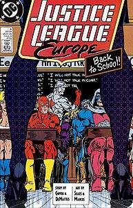 Justice League Europe, Vol. 1, #6. Image © DC Comics