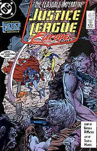 Justice League Europe 7.  Image Copyright DC Comics