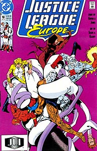 Justice League Europe, Vol. 1, #18. Image © DC Comics