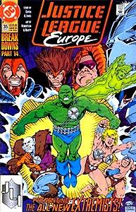 Justice League Europe 35.  Image Copyright DC Comics