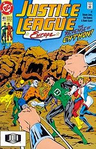 Justice League Europe, Vol. 1, #41. Image © DC Comics