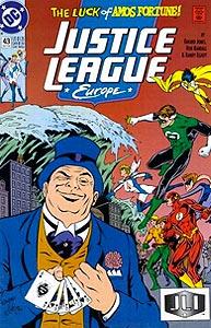 Justice League Europe, Vol. 1, #43. Image © DC Comics