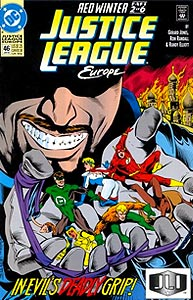 Justice League Europe, Vol. 1, #46. Image © DC Comics